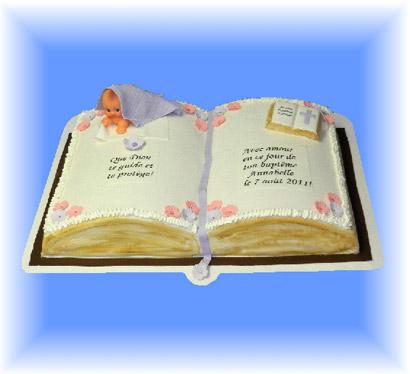 Gateau fille 8 cake ideas and designs - Deco de bapteme fille ...