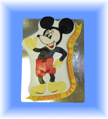 9.G�teau Mickey Mousse